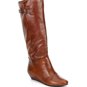 Steve Madden Intyce Leather Tall Boots